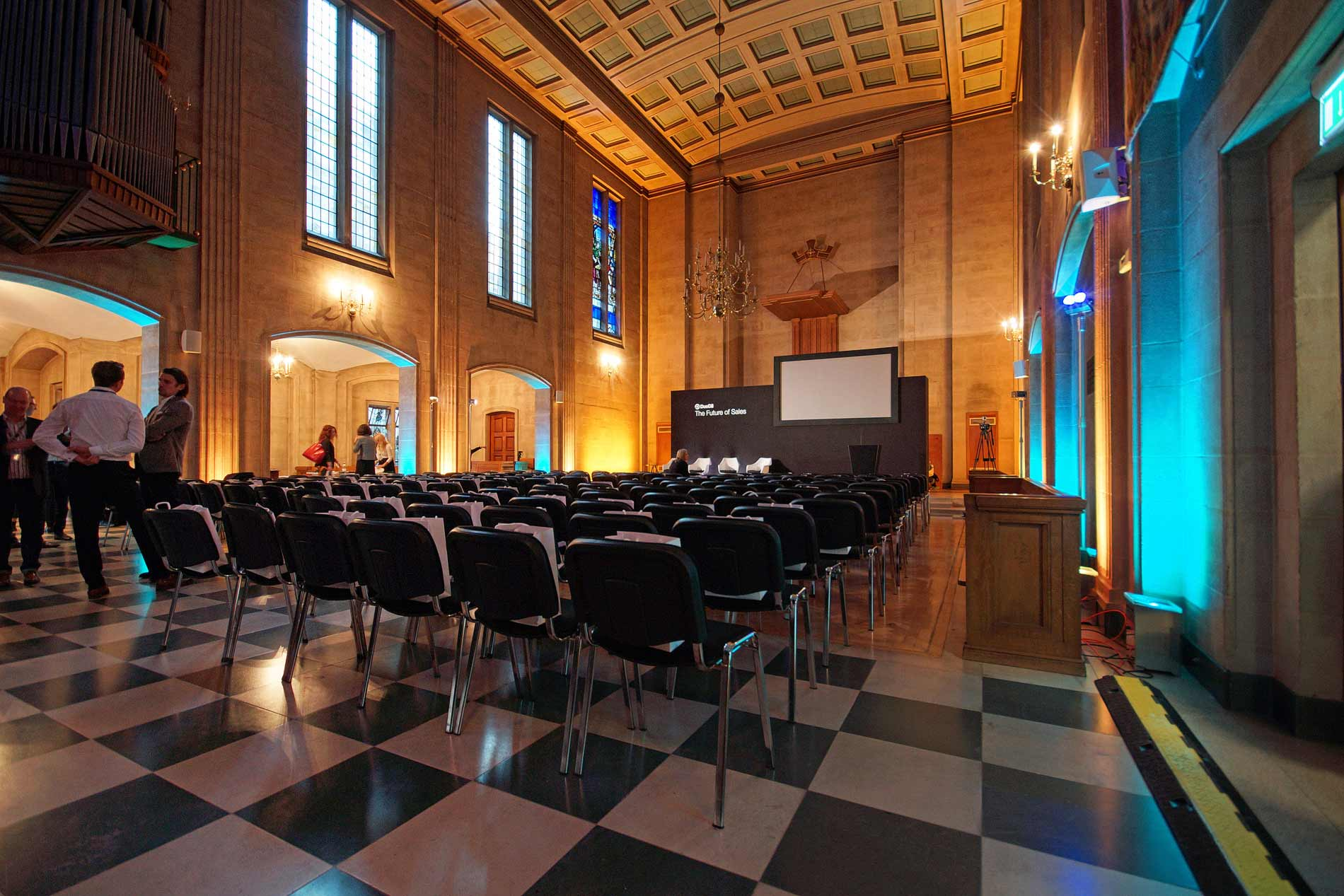 Historic Dutch Hall conference venue in the City of London EC2