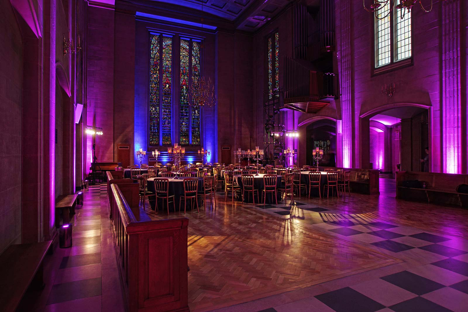 The Dutch Hall Christmas party event venue in the City of London EC2