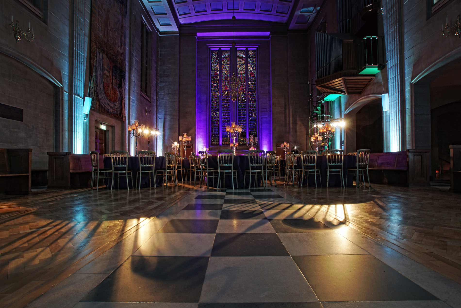 The Dutch Hall Christmas party venue in the City of London EC2