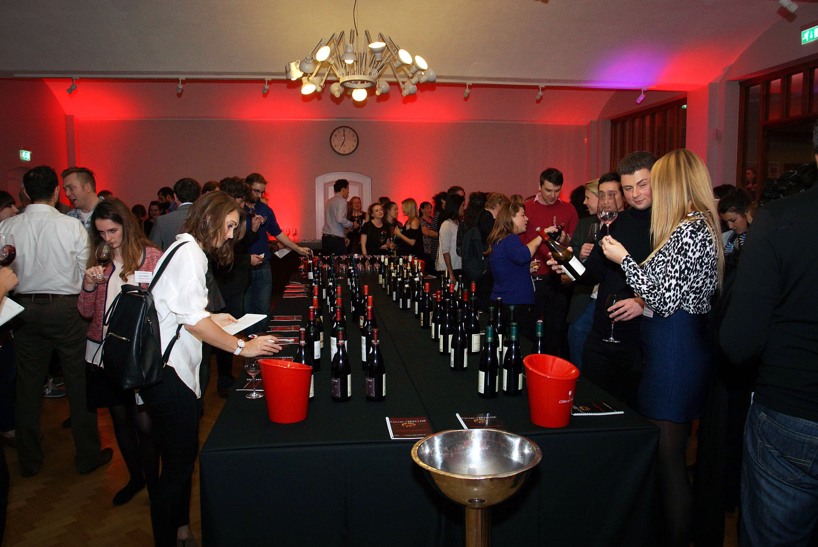 Wine reception at at City of London event venue The Dutch Hall