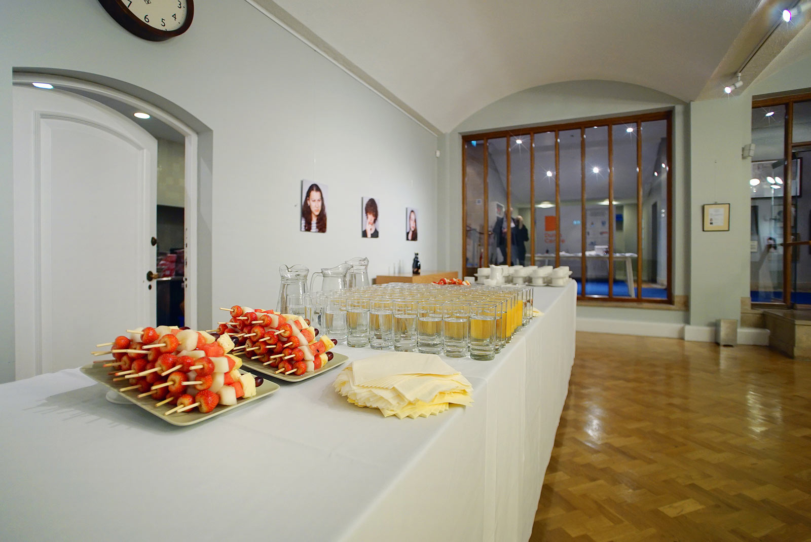 Catering service at London EC2 conference venue The Van Gogh Reception Room