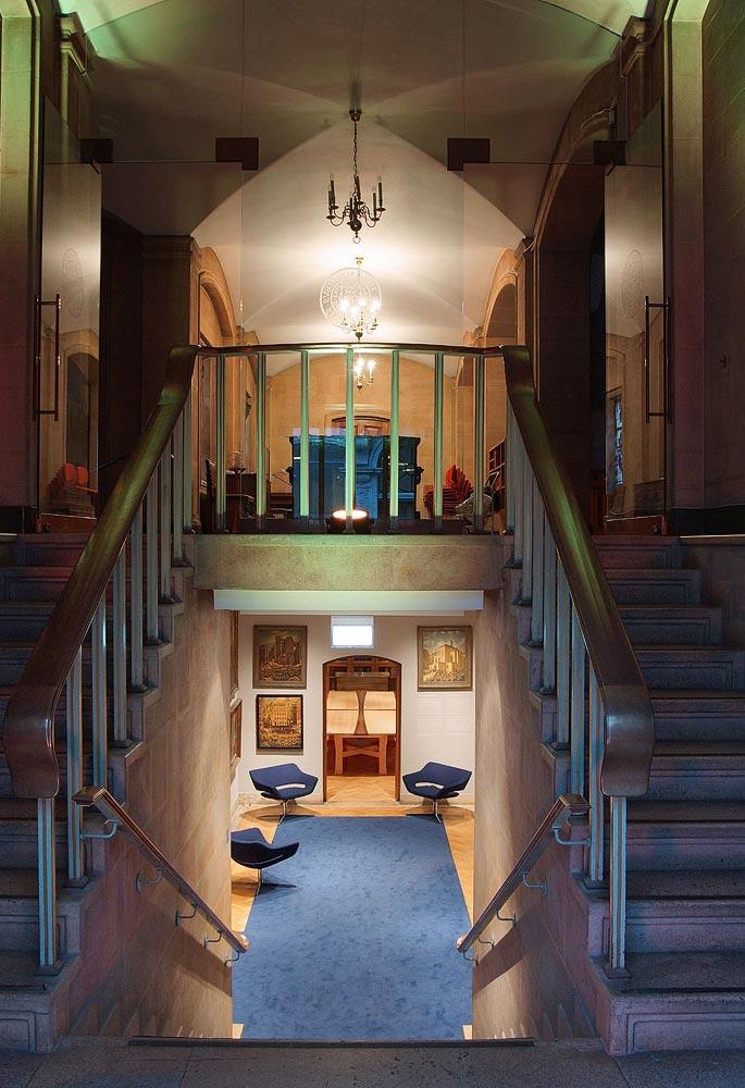 Conference venue entrance at London EC2 event venue The Dutch Hall