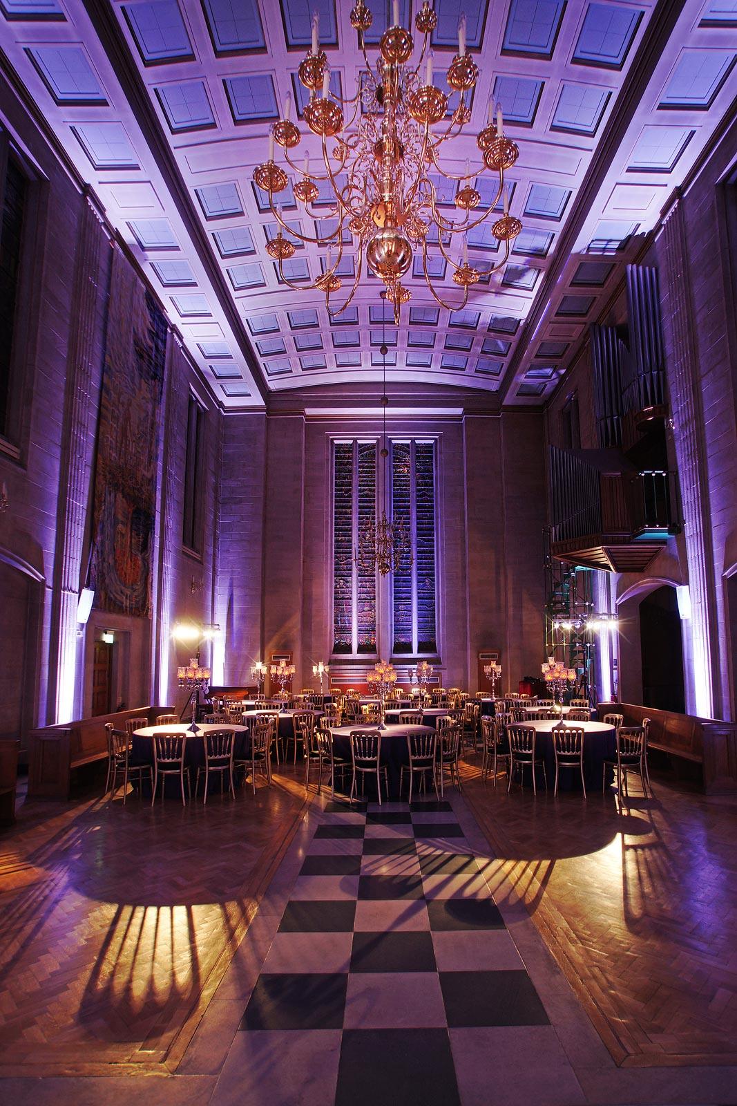 London EC2 banquet venue The Dutch Hall