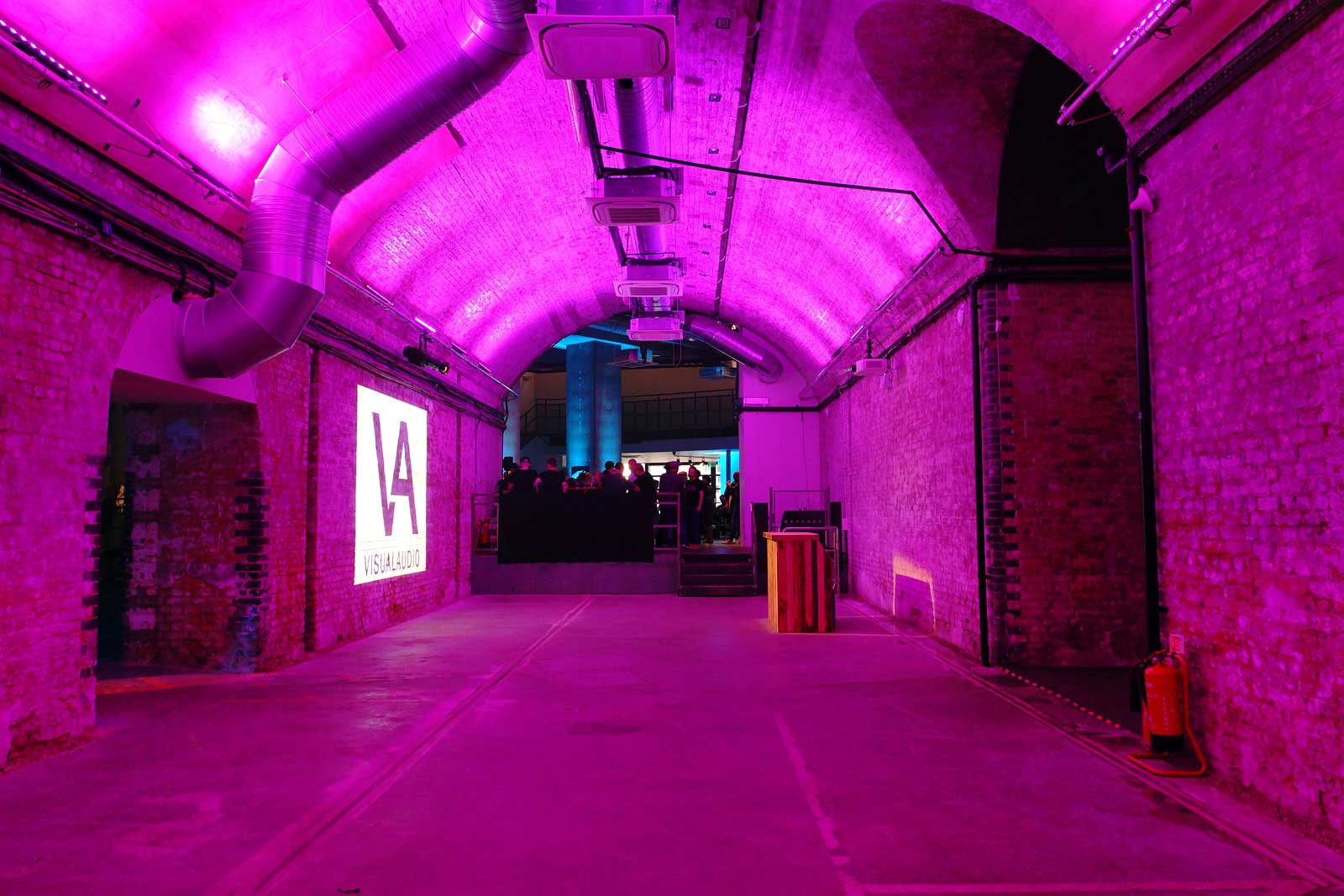 Dramatic arch spaces for hire at London South Bank Event Venue represented by VenuesLDN.co.uk