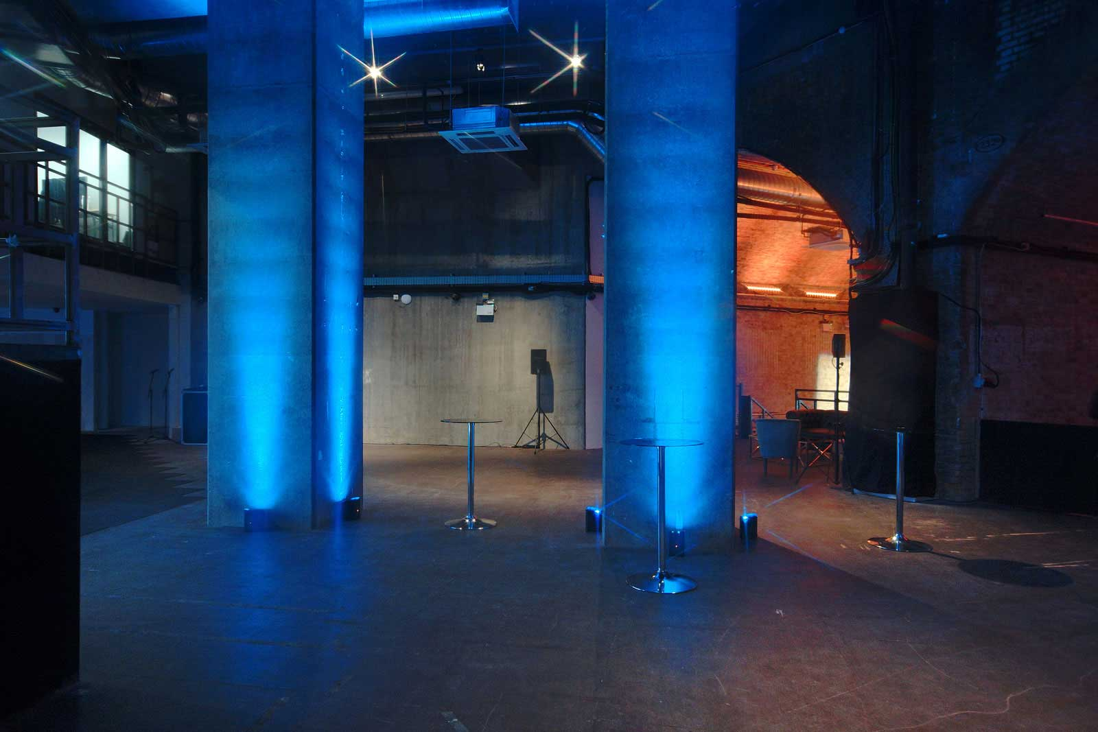 Triple height event space to hire at the London South Bank Event Venue represented by VenuesLDN.co.uk