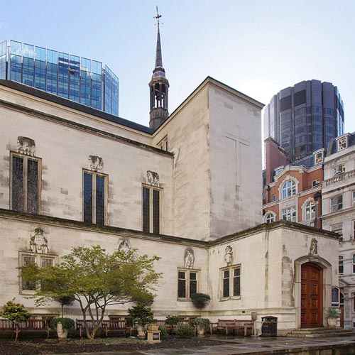 London film location hire in EC2 exterior