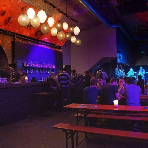 London film location hire SE1 music bar